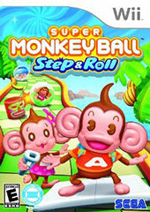 Super Monkey Ball - Step & Roll (NINTENDO WII)