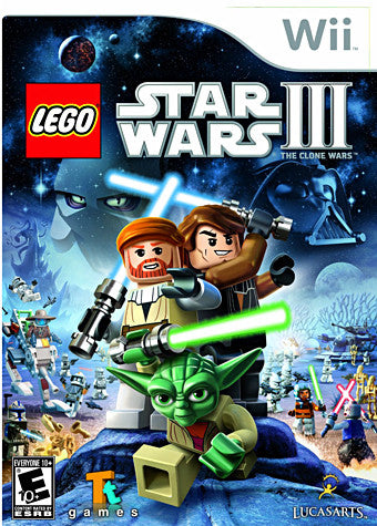 LEGO Star Wars III - The Clone Wars (NINTENDO WII) NINTENDO WII Game