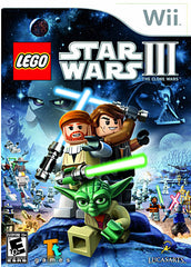 LEGO Star Wars III - The Clone Wars (NINTENDO WII)