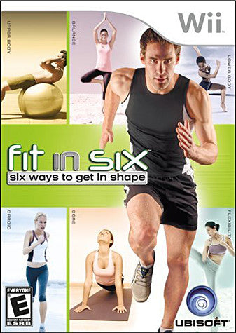 Fit in Six (NINTENDO WII) NINTENDO WII Game
