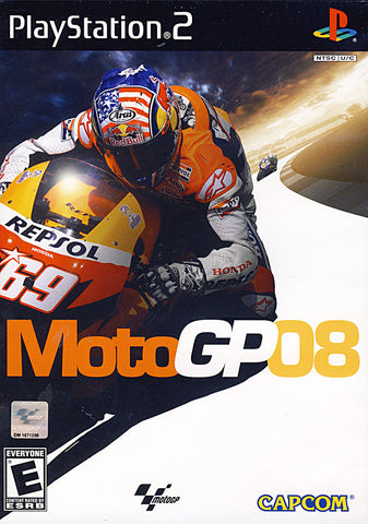 MotoGP 08 (Limit 1 copy per client) (PLAYSTATION2) (USED) PLAYSTATION2 Game