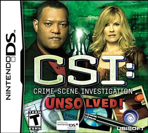 CSI - Unsolved (DS) DS Game