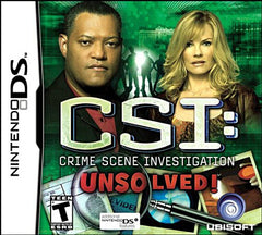 CSI - Unsolved (DS)