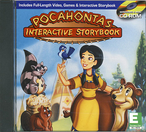 Pocahontas - Interactive Storybook (PC) PC Game