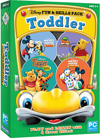 Disney Fun And Skills - Toddler (Ages 2-4) (PC) PC Game