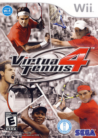 Virtua Tennis 4 (Bilingual Cover) (NINTENDO WII) NINTENDO WII Game