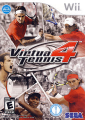 Virtua Tennis 4 (Bilingual Cover) (NINTENDO WII)