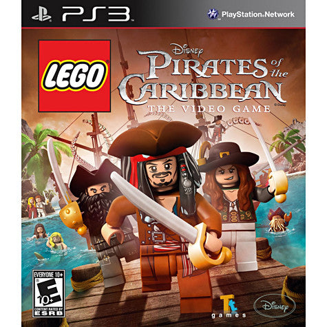 LEGO Pirates of the Caribbean (PLAYSTATION3) PLAYSTATION3 Game