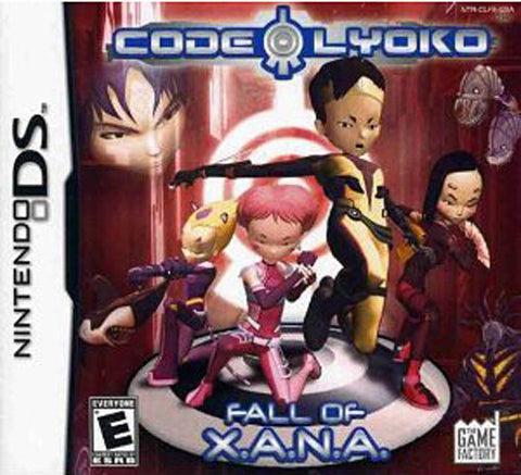 Code Lyoko - The Fall of X.A.N.A (DS) DS Game