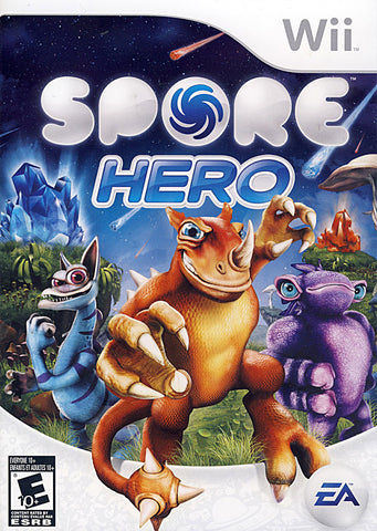 Spore Hero (Bilingual Cover) (NINTENDO WII) NINTENDO WII Game