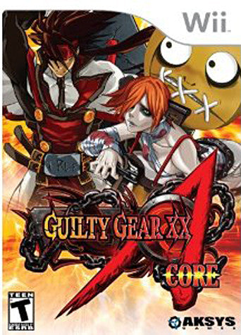 Guilty Gear - XX Accent Core (NINTENDO WII) NINTENDO WII Game