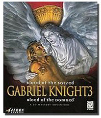 Gabriel Knight 3 - Blood of the Sacred, Blood of the Damned (European) (PC)