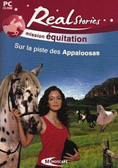 Real Stories Mission Equitation - Sur la piste des Appaloosas (French Version Only) (PC)