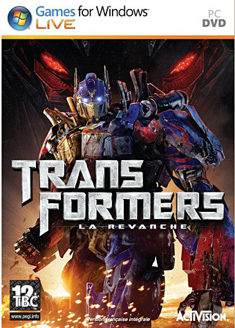 Transformers - La Revanche (French Version Only) (PC) PC Game