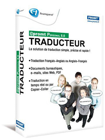 Traducteur Promt Personal 8.0 (French Version Only) (PC) PC Game