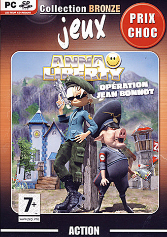 Anna Liberty - Operation Jean Bonnot (French Version Only) (PC) PC Game