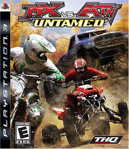 Mx Vs ATV - Untamed (PLAYSTATION3) PLAYSTATION3 Game