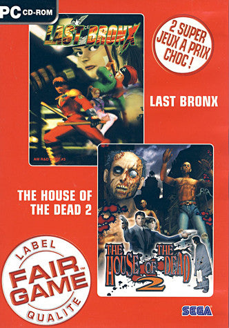 Last Bronx / House of the Dead 2 (French Version Only) (PC) PC Game