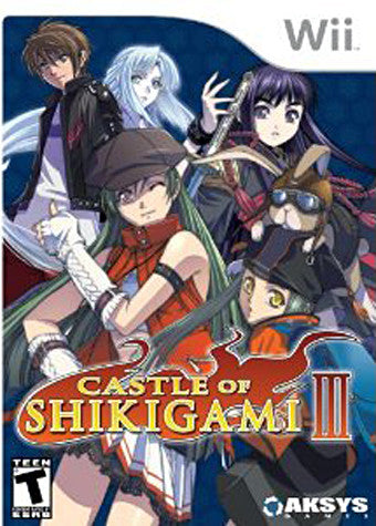Castle of Shikigami 3 (NINTENDO WII) NINTENDO WII Game