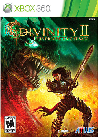 Divinity II - The Dragon Knight Saga with Soundtrack CD (XBOX360) XBOX360 Game