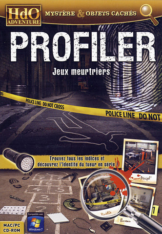 Profiler - Jeux Meurtriers (French Version Only) (PC) PC Game