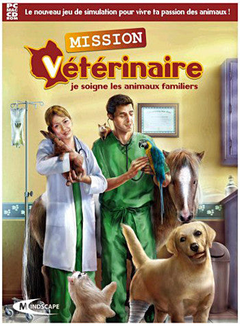 Mission Veterinaire: Je Soigne Les Animaux Familiers (French Version Only) (PC) PC Game