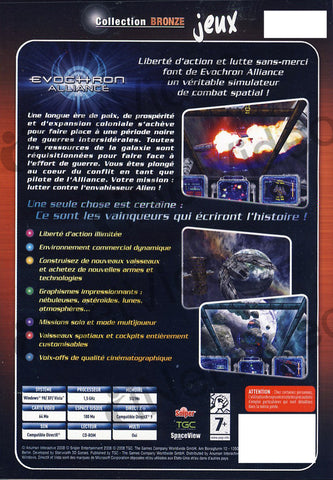 Evochron Alliance (French version Only) (PC) PC Game
