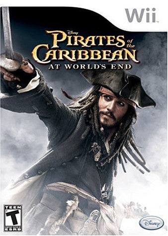 Pirates of the Caribbean - At World's End (NINTENDO WII) NINTENDO WII Game