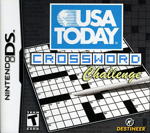 USA Today Crosswords - Challenge (DS) DS Game