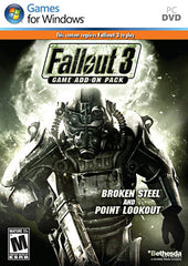 Fallout 3 Game Add-On Pack - Broken Steel and Point Lookout (PC)
