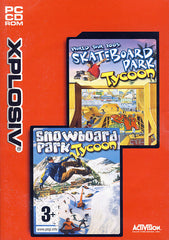 Skateboard Park Tycoon World Tour 2003 / Snowboard Park Tycoon (Limit 1 copy per client) (PC)