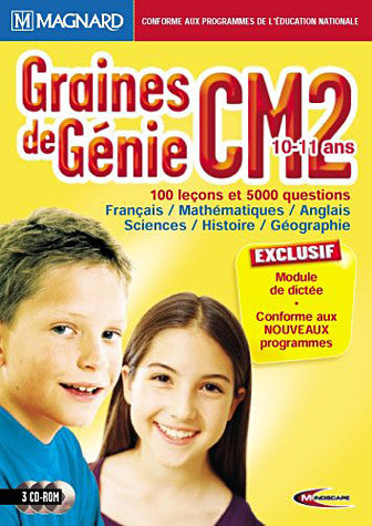 Graine De Genie CM2 10-11ans 2004/2005 (French Version only) (PC) PC Game