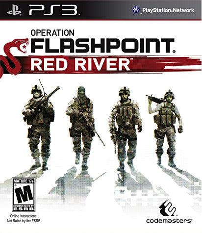 Operation Flashpoint - Red River (European) (PLAYSTATION3) PLAYSTATION3 Game