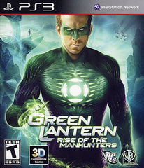 Green Lantern - Rise of the Manhunters (PLAYSTATION3)