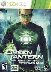 Green Lantern - Rise of the Manhunters (XBOX360)