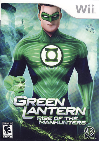 Green Lantern - Rise of the Manhunters (NINTENDO WII) NINTENDO WII Game