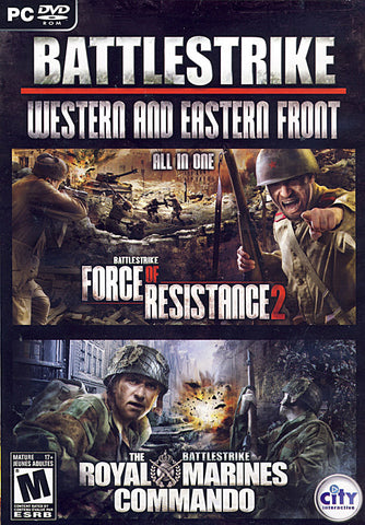 Royal Marines Commando / Battlestrike Force of Resistance 2 (Action Pack) (Bilingual Cover) (PC) PC Game