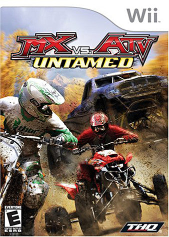 Mx Vs ATV Untamed (NINTENDO WII) NINTENDO WII Game