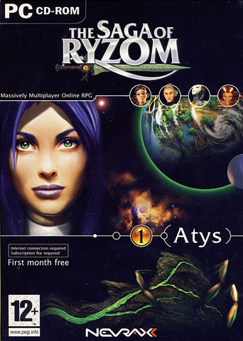 The Saga of Ryzom - Online Game (PC) PC Game