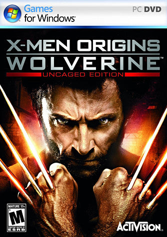 X-Men Origins  Wolverine - Uncaged Edition (PC) PC Game