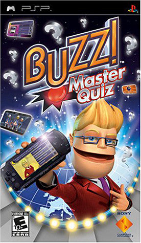 Buzz! Master Quiz (PSP) PSP Game