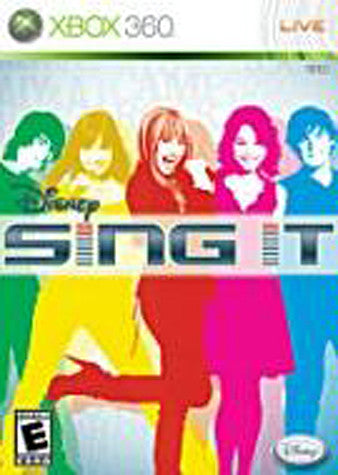 Disney - Sing It (Game Only) (XBOX360) XBOX360 Game