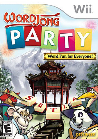 Word Jong Party (NINTENDO WII) NINTENDO WII Game