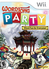 Word Jong Party (NINTENDO WII)