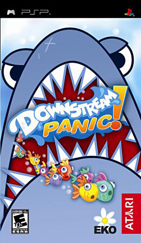 Downstream Panic! (PSP) PSP Game