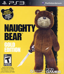Naughty Bear Gold Edition (PLAYSTATION3)