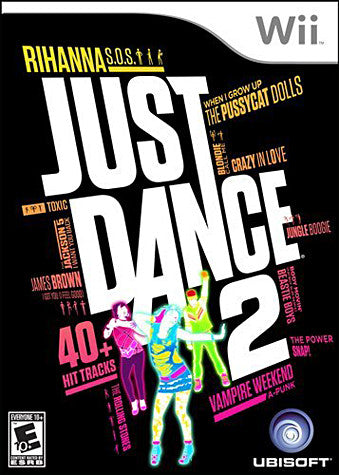 Just Dance 2 (Bilingual Cover) (NINTENDO WII) NINTENDO WII Game