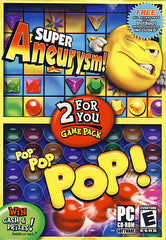 Super Aneurysm / Pop Pop Pop (2 Games Pack) (PC)