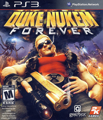 Duke Nukem Forever (PLAYSTATION3) PLAYSTATION3 Game