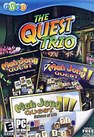 The Quest Trio - (Mah Jong Quest/ Mah Jong Quest 2 / Mah Jong Quest 3) (Limit 1 copy per client) (PC) PC Game